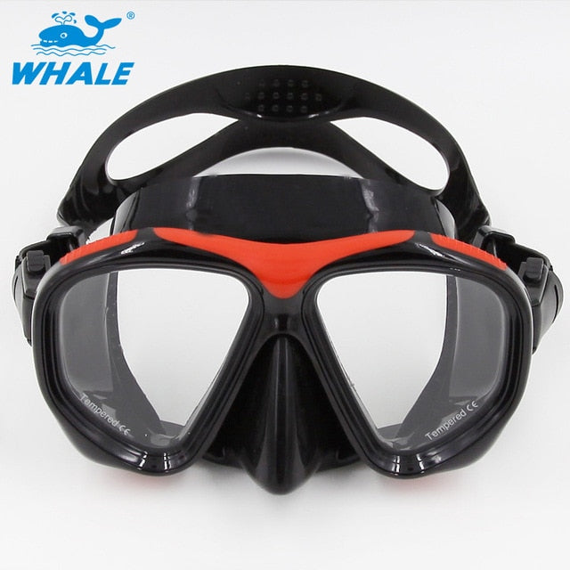 New Brand Professional Scuba Adults Diving Goggles spearfishing scuba gear swimming mask diving goggles Diving Mask Equipment