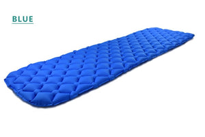 ONLY 450g Outdoor Inflatable Cushion Sleeping Bag Mat Fast Filling Air Moistureproof Camping Mat With Pillow Sleeping Pad