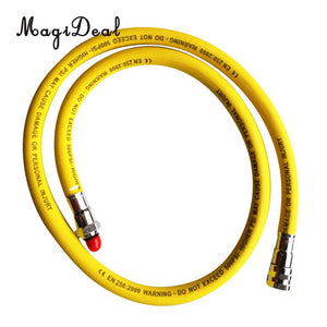 MagiDeal Scuba Diving Nylon Braided Yellow Low Pressure Regulator Hose 2nd Stage