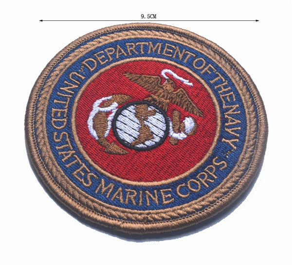 US MARINE CORPS MARINES SEMPER FI USMC Patch THE Department of NAVY SEAL US MARINE NSWDG DEVGRU MILITARY PATCH BADGE