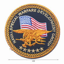 Load image into Gallery viewer, US MARINE CORPS MARINES SEMPER FI USMC Patch THE Department of NAVY SEAL US MARINE NSWDG DEVGRU MILITARY PATCH BADGE