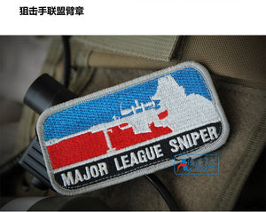 Custom embroidered American flag  armband gum + + send full embroidery matte design badges  patch military