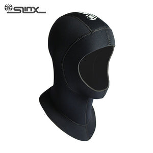 Slinx Men Women Diving Neck Hat Full Face Mask Hat 3mm Neoprene Waterproof Cold-proof Spearfishing Swimming Diving Hoods