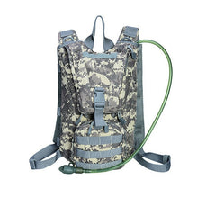 Load image into Gallery viewer, 2.5L Water Bag Tactical Backpack Bladder Hydration Military Knapsack Outdoor Camping Hiking Molle System Camouflage Bags XA306WD