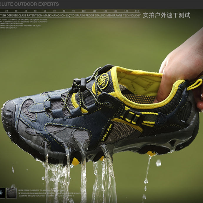 Outdoor Water Sports Sneakers Breathable Shoes for Men Upstream Shoes Summer Footwear High Quality Wading Beach Hiking Shoes