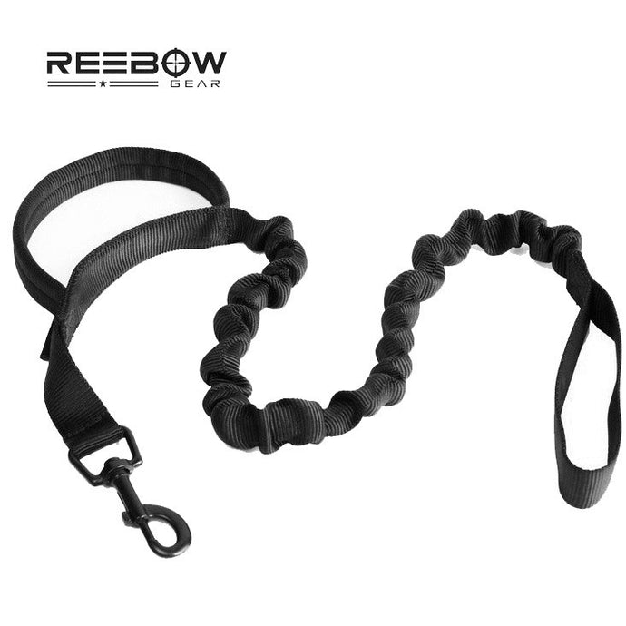 Advanced Tactical Bungee Dog Leash with Traffic Handle Heavy Duty Outdoor Sport Training Dog Lead