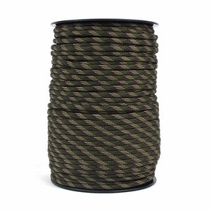 100m 328FT 4mm Tactical Paracord 550 Outdoor Survival Bracelet Rope Parachute Cord Strap Lanyard Tent Accessories