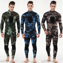 Load image into Gallery viewer, Myle 3mm scuba diving wetsuit camouflage dive suit SCR neoprene hloroprene rubber submersible surfers to keep warmth