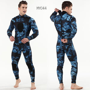 Myle 3mm scuba diving wetsuit camouflage dive suit SCR neoprene hloroprene rubber submersible surfers to keep warmth