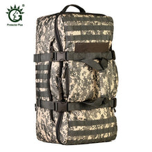 Load image into Gallery viewer, 60L Dual Use Backpack Outdoor Men Women Sports Bag Military Tactical Bags Hiking Camping Waterproof Wear-resisting Nylon Bag