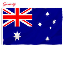 Load image into Gallery viewer, Australian Flag Polyester Flag Banner for Festival Home Decoration Super-Poly Indoor Outdoor Aussie flag NN007