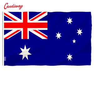 Australian Flag Polyester Flag Banner for Festival Home Decoration Super-Poly Indoor Outdoor Aussie flag NN007