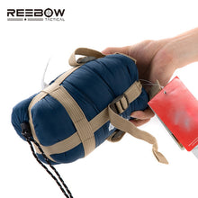 Load image into Gallery viewer, REEBOW TACTICAL Autumn Outdoor Camping Sleeping Bag Ultra-light Portable Travel Thermal Envelope Sleeping Bag Hiking Trekking