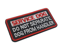 Load image into Gallery viewer, SERVICE DOG IN TRAINING DO NOT TOUCH PATCH Badge Morale SERVICE DOG K9 Therapy Police dog Tactical Harness Vest Patch