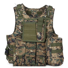 Load image into Gallery viewer, Outlife USMC Airsoft CS Military Tactical Vest Molle Combat Assault Plate Carrier Tactical Vest Outdoor Clothing Hunting Vest
