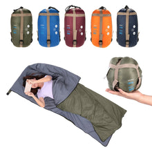 Load image into Gallery viewer, Lixada 190 * 75cm Outdoor Envelope Sleeping Bag Ultra-light 680g Camping Sleeping Bag Spring Autumn Travel Hiking Sleeping Bag