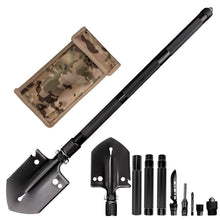 Load image into Gallery viewer, Outdoor Engineer Spatula Multifunctional Folding Arms Spatula Camp Dew Survival Tools Military Spatula Camping Gear