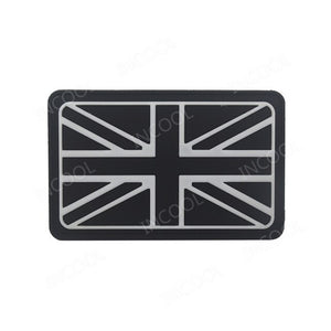 3D PVC England Flag Patch UK United Kingdom Military Morale Patch Tactical Badges Combat Rubber Patches For Clothing Backpack