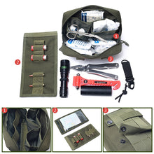 Load image into Gallery viewer, Outdoor Travel First Aid Kit Tactical Medical Bag Survie Portable