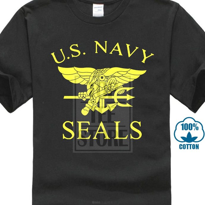 U.S.Navy Seal Team Printed T Shirts United States Navy Seals Mens T Shirts 2017 Summer Tracksuit For Men Tshirts