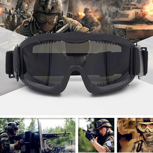 Military CS Wargame Ballistic Goggles Hunting Shooting Tactical Sunglasses Eye Protection Eyewear Anti-fog Airsoft Glasses