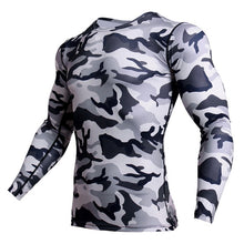 Load image into Gallery viewer, NEW Camouflage Jerseys Military Long Sleeve Men's T-shirts Compression Clothing Fitness Tops Autumn Tee shirt Cosplay Wear Tees