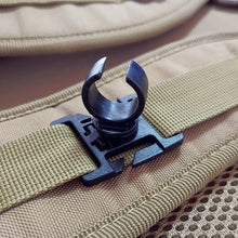 Load image into Gallery viewer, AloneFire led flashlight swivel U ring clip webbing clamp tactical backpack attach strap hang camp outdoor hike mountain climb