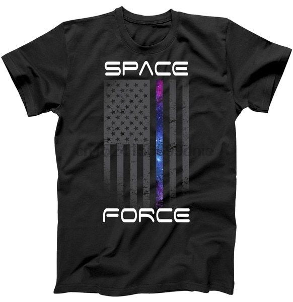 American United States Space Force Flag Military T Shirt Army Black S 3Xl