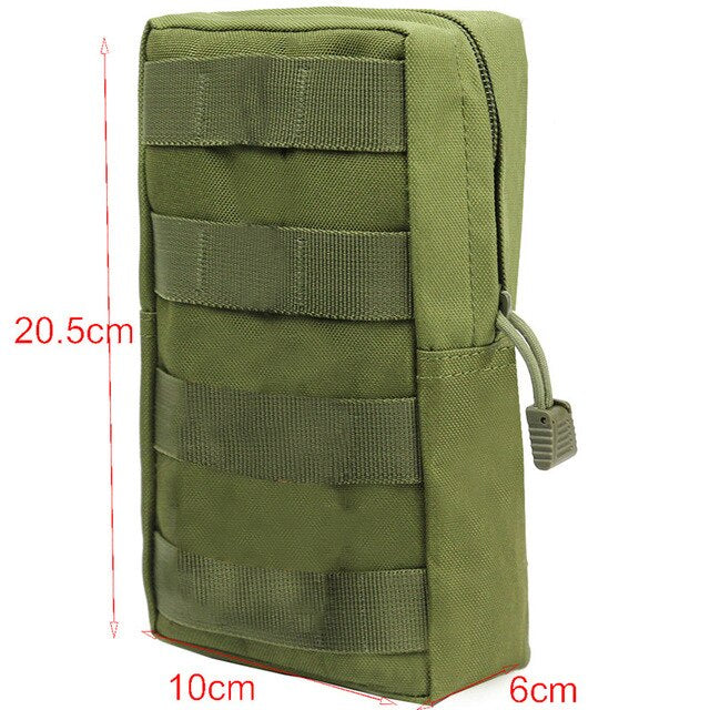 Multifunction 1000D Molle Pouch Hunting Bag Tactical Pouches for Backpack Vest Waist Belt EDC Military Outdoor Phone Holder Tool