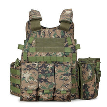 Load image into Gallery viewer, Multicam Camouflage Molle Nylon Modular Vest Tactical Combat Vests Outdoor Hunting 6094 Vests Military Men Clothes Army Vest