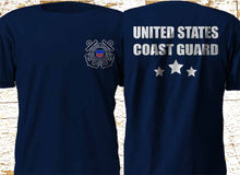 Load image into Gallery viewer, United States Coast Guard Uscg Maritime Military Forces Army Navy Brand Clothes Summer 2019 Cheap O-Neck Men'S Top Tee Shirt
