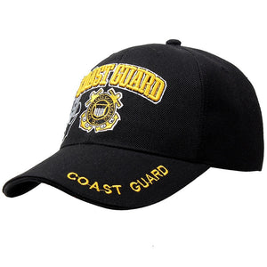 New USCG United States Coast Guard Baseball Caps High Quality Embroidery Adjustable Tacitcal Baseball Cap For Men And Women AE15