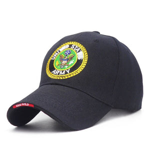 United States ARMY Baseball Cap Men'S Snapback Hats Outdoor Sports Army Hat For Men Women Caps Adjustable Bone Snapback Hat