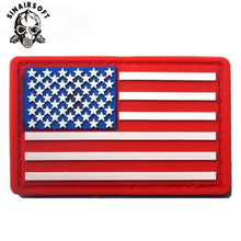 Load image into Gallery viewer, New USA US American Flag Patch Army Military Tactical Morale Patch Emblem Hook & Loop Badge Tactical Armband Patch