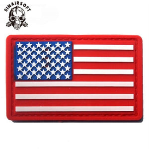 New USA US American Flag Patch Army Military Tactical Morale Patch Emblem Hook & Loop Badge Tactical Armband Patch