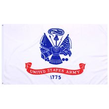 Load image into Gallery viewer, 3 by 5 ft polyester united states of american Military US Army flag