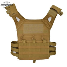 Load image into Gallery viewer, Molle Military Shooting Vest Protective Plate Carrier Tactical Vest for Outdoor Hunting Airsoft Paintball Waistcoat Vests