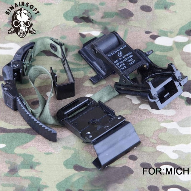 MICH M88 FAST Helmet MOUNT KIT Airsoft Tactical Army Night Vision Goggle For Protection Helmet Accessories Rhino NVG PVS-7 PVS14