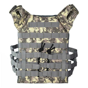 Tactical Body Armor JPC Vest Molle Army Combat Assault Plate Carrier CS Camouflage Vest Paintball Airsoft Outdoor Hunting Vest