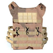 Load image into Gallery viewer, Tactical Body Armor JPC Vest Molle Army Combat Assault Plate Carrier CS Camouflage Vest Paintball Airsoft Outdoor Hunting Vest