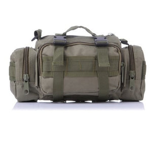 TAK YIYING  Tactical MOLLE Hunting Waist Bag Pack Utility Bag Heavy Duty with Shoulder Strap