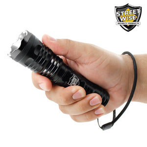 Street Wise Tactical Cree LED Flashlight w/ Slide Zoom Streetwise