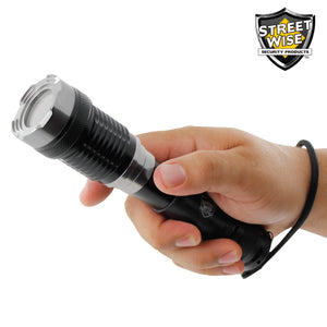 Street Wise Tactical Cree LED Lantern Flashlight w/ Twist Zoom Streetwise