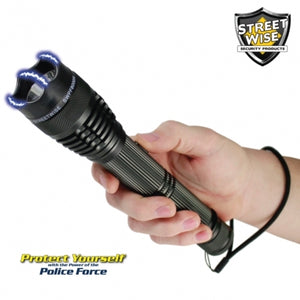 Streetwise Police Force 8 Million Tactical Stun Gun Flashlight Streetwise