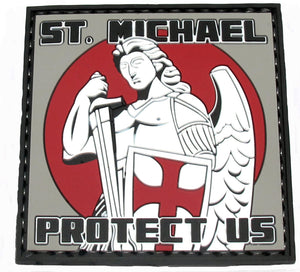 Tru-SpecMorale Patch - St. Michael Protect Us