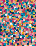 """Colored Dots"" - Print"