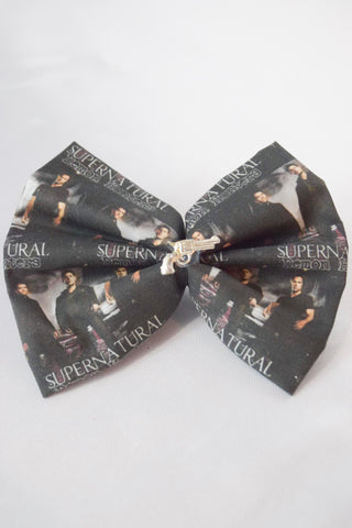 SALE Supernatural Brothers Hair Bow