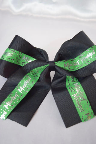Mischief Managed Hair Bow