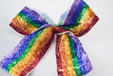 Rainbow Hair Bow