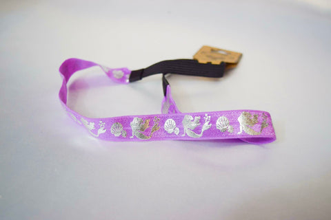 Little Mermaid Purple Headband